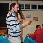 Laurent, Secrétaire de l'association, est passionné par la radio et l'animation, ce 9 février 2014 il a pu exercer sa passion pour sa nouvelle association de cœur