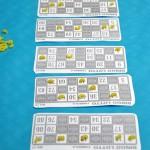Comme vous pouvez le voir, les participants n'ont pas hésitės a à se proccurer plein de carton de bingo, tout simplement pour repartir avec un maximum de cadeau
